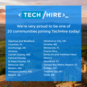 20 communities join TechHire